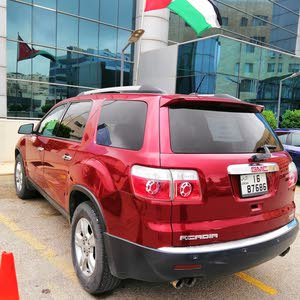 GMC Acadia 2010 For sale - Red color