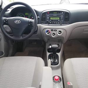 Hyundai Accent 2008 For sale - Silver color