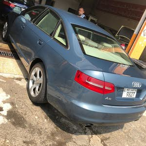 Blue Audi A6 2010 for sale