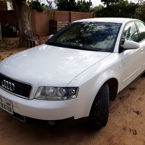 White Audi A4 2003 for sale