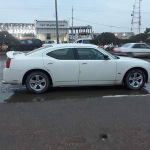 White Dodge Charger 2009 for sale