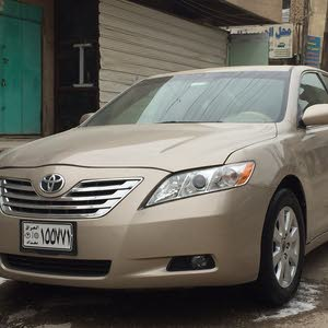 Gold Toyota Camry 2007 for sale