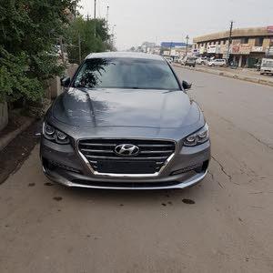 Automatic Grey Hyundai 2018 for sale
