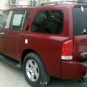 km mileage Nissan Armada for sale