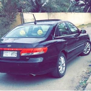 Maroon Hyundai Azera 2007 for sale