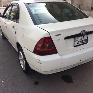 Manual Toyota Corolla 2007