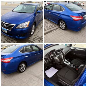 Nissan Sentra 2015 For sale - Blue color
