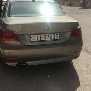 Automatic Gold BMW 2007 for sale