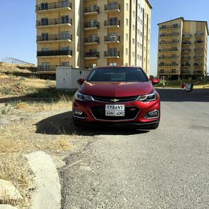 Chevrolet Cruze car for sale 2017 in Baghdad city