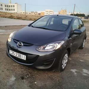 Automatic Grey Mazda 2015 for sale
