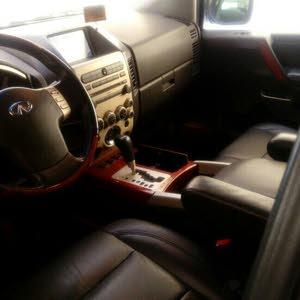 سيارة انفينتي موديل 2007 بحالة جيدة جدا للبيع