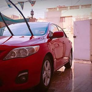 For sale 2012 Red Corolla