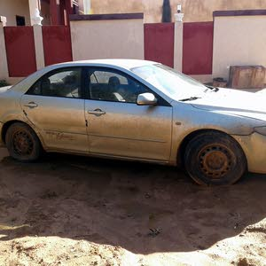 Used condition Mazda 6 2004 with +200,000 km mileage