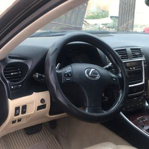 Lexus IS 2007 For sale - Beige color