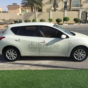 White Nissan Tiida 2015 for sale