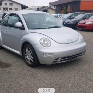 Grey Volkswagen Beetle 2001 for sale