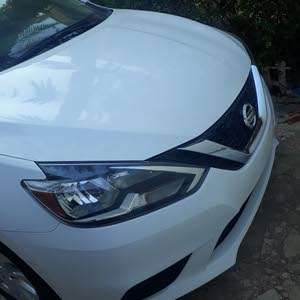 White Nissan Sentra 2017 for sale