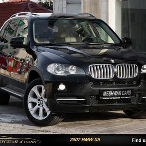 Automatic BMW 2007 for sale - Used - Amman city