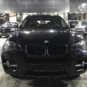 Blue BMW X6 2011 for sale