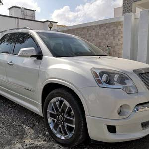 GMC Acadia 2012 For sale - White color