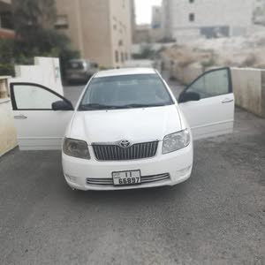 Used condition Toyota Corolla 2004 with 0 km mileage