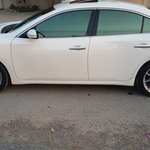 White Nissan Maxima 2011 for sale