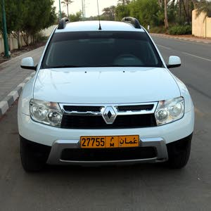 White Renault Duster 2013 for sale