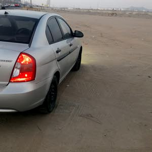 Used condition Hyundai Accent 2009 with +200,000 km mileage