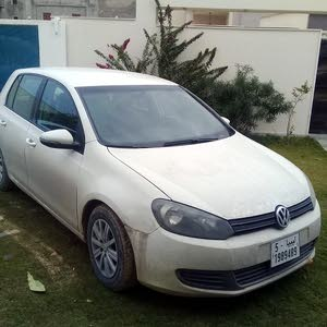 Volkswagen Golf car for sale 2010 in Tripoli city