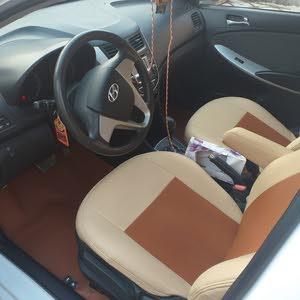 White Hyundai Accent 2015 for sale
