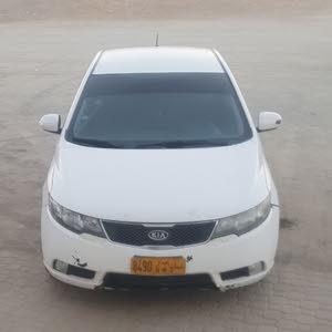 White Kia Cerato 2010 for sale