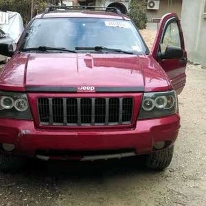 Maroon Jeep Cherokee 2004 for sale
