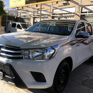 Manual Toyota 2016 for sale - Used - Amman city