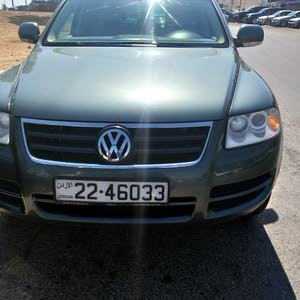 Turquoise Volkswagen Touareg 2006 for sale