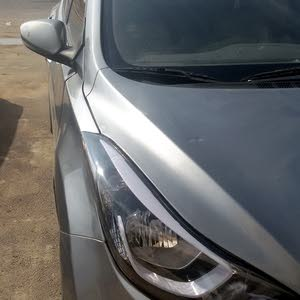 Silver Hyundai Elantra 2015 for sale