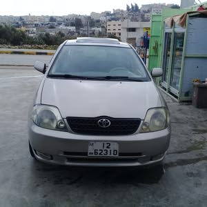 2003 Used Corolla with Manual transmission is available for sale