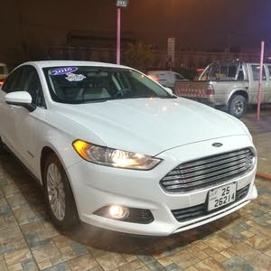 White Ford Fusion 2016 for sale