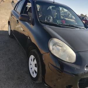 Nissan Micra car for sale 2012 in Ajloun city