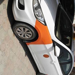 Hyundai Accent 2010 For sale - Orange color