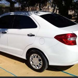 White Ford Figo 2016 for sale