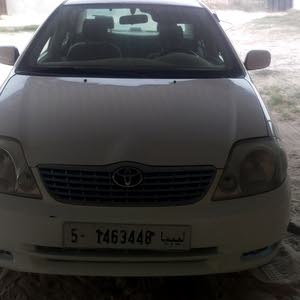 Used 2002 Corolla for sale