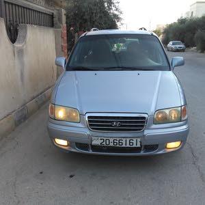Hyundai Trajet car for sale 2002 in Irbid city