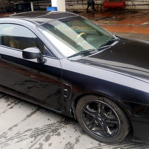 Black Hyundai Coupe 2007 for sale