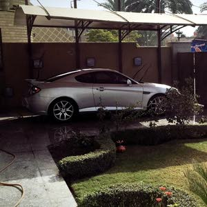 Grey Hyundai Coupe 2008 for sale