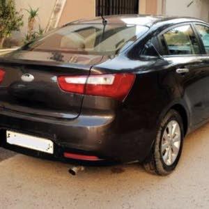 كيا ريو موديل ستة 2013 السيارة مسرفزة بالكامل ماشية 139 الف سيارة الدار