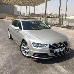 condition Audi A7 2015 with  km mileage