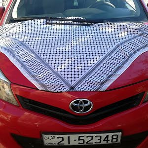 Automatic Red Toyota 2012 for sale