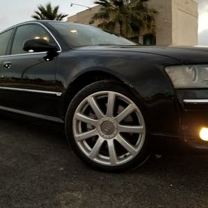 Black Audi A8 2005 for sale