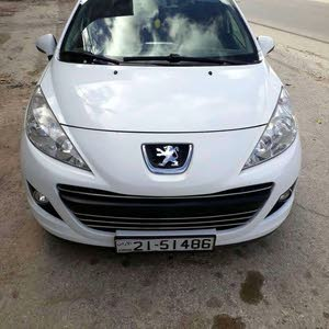 Automatic White Peugeot 2012 for sale