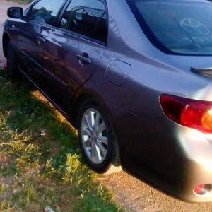 Toyota Corolla 2008 For sale - Grey color